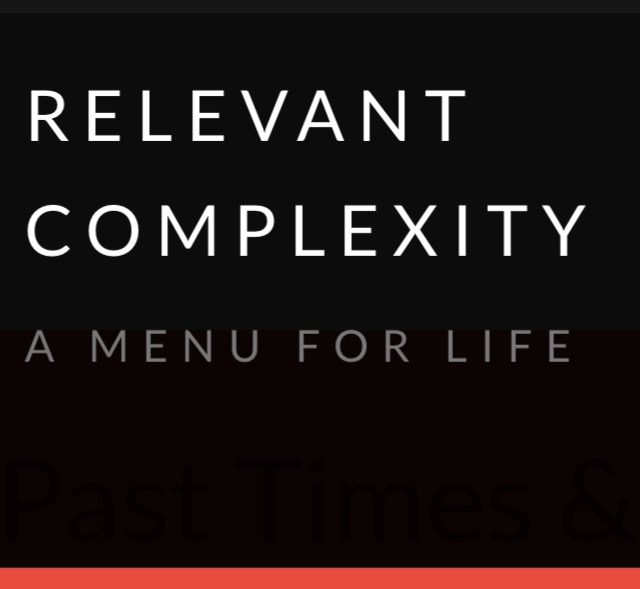 Relevant Complexity Link